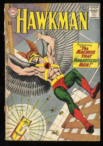 Hawkman #4 FA/GD 1.5