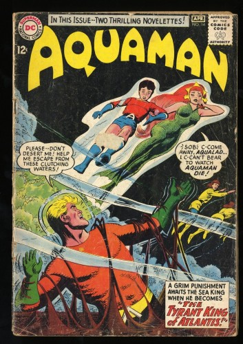 Aquaman #14 GD+ 2.5