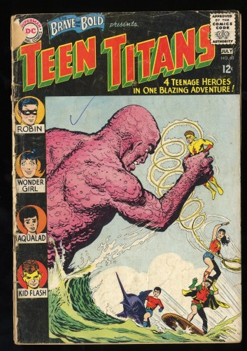 Brave And The Bold #60 FA/GD 1.5 1st Wonder Girl