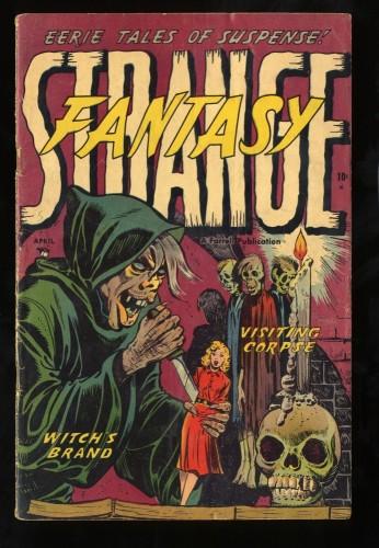 Strange Fantasy #5 VG 4.0