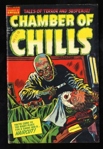 Chamber Of Chills #18 FN- 5.5