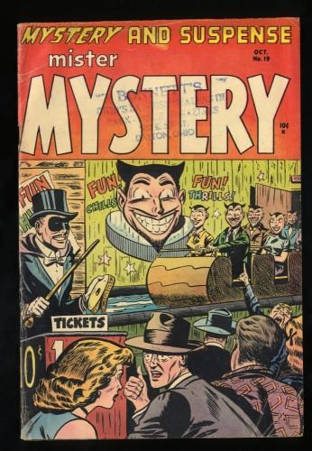 Mister Mystery #19 VG 4.0
