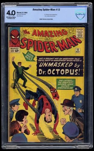 Amazing Spider-Man #12 CBCS VG 4.0 Off White to White