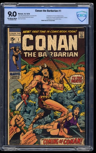 Conan the Barbarian #1 CBCS VF/NM 9.0 Off-White/White