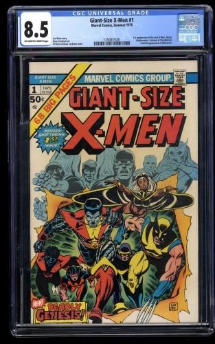 Giant-Size X-Men #1 CGC VF+ 8.5 Off White to White