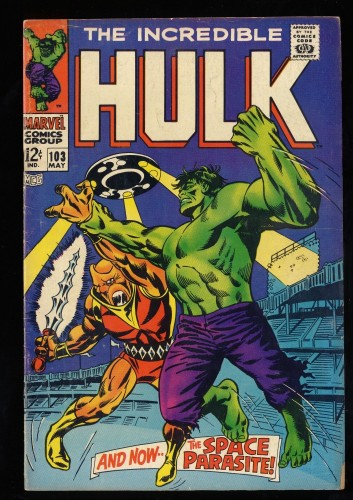 Incredible Hulk #103 VG 4.0