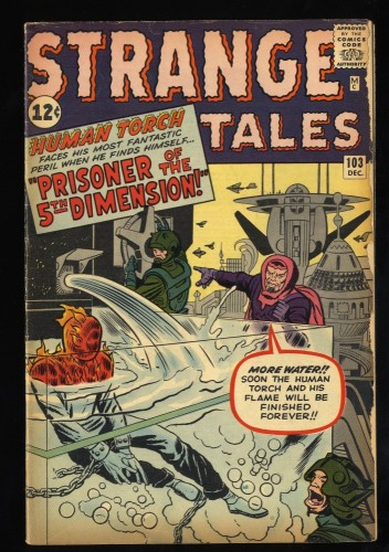 Strange Tales #103 VG 4.0 Human Torch!