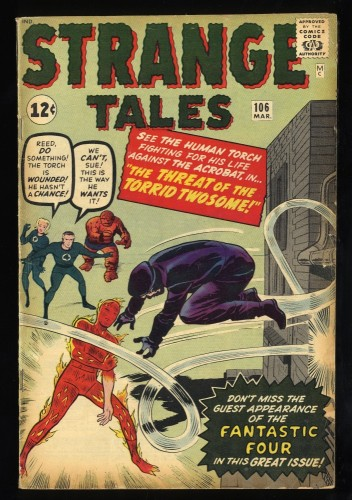 Strange Tales #106 VG/FN 5.0