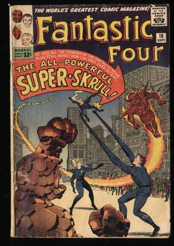Fantastic Four #18 GD 2.0