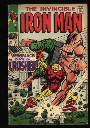 Iron Man #6 FN- 5.5