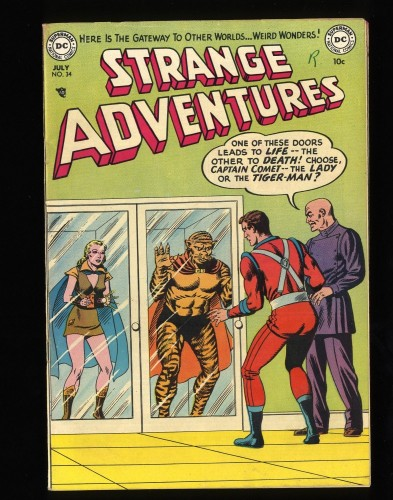 Strange Adventures #34 FN 6.0 DC Comics