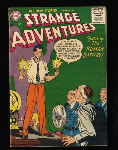 Strange Adventures #66 FN 6.0 DC Comics
