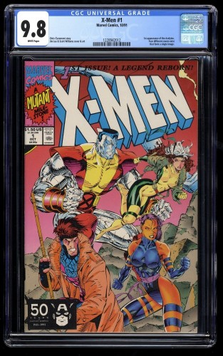 X-Men #1 CGC NM/M 9.8 Colossus and Gambit 1991