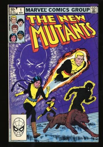 New Mutants #1 VG 4.0