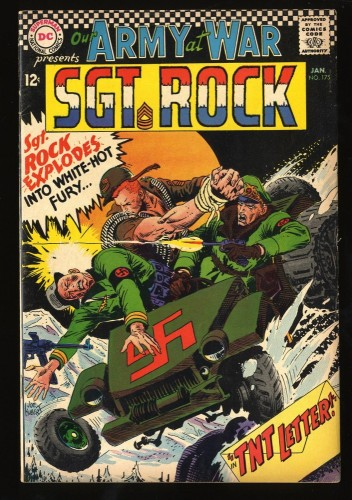 Our Army at War #175 VG/FN 5.0