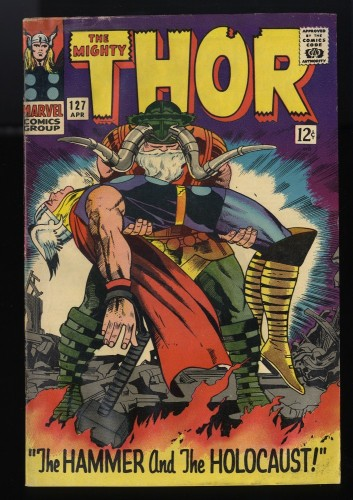 Thor #127 VG- 3.5