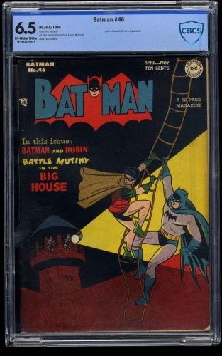 Batman #46 CBCS FN+ 6.5 Off White to White