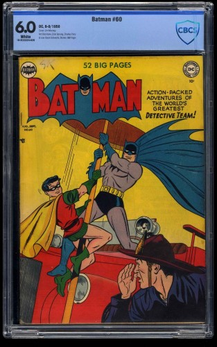Batman #60 CBCS FN 6.0 White Pages
