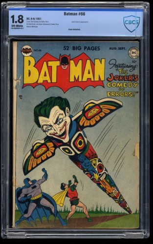 Batman #66 CBCS GD- 1.8 Off White