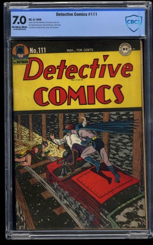 Detective Comics #111 CBCS FN/VF 7.0 Off White to White