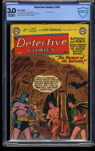 Detective Comics #205 CBCS GD/VG 3.0 Off White