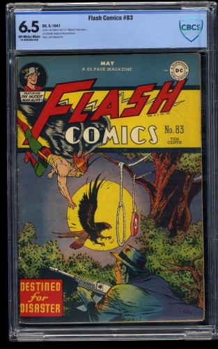 Flash Comics #83 CBCS FN+ 6.5 Off White to White