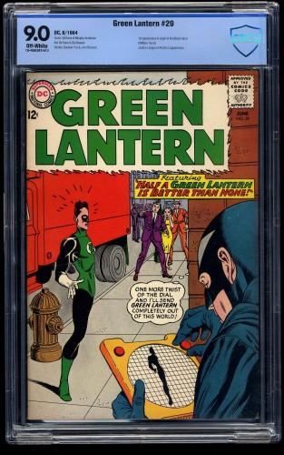 Green Lantern #29 CBCS VF/NM 9.0 Off White
