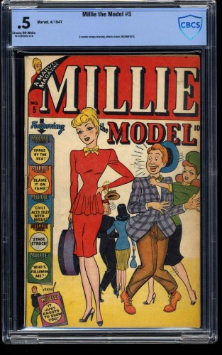 Millie the Model #5 CBCS P 0.5 Cream To Off White