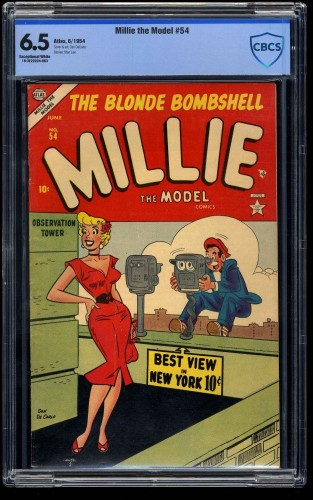Millie the Model #54 CBCS FN+ 6.5 Exceptional White