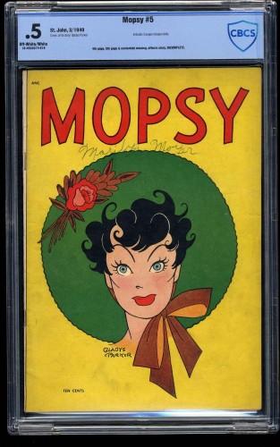 Mopsy #5 CBCS P 0.5 Off White to White
