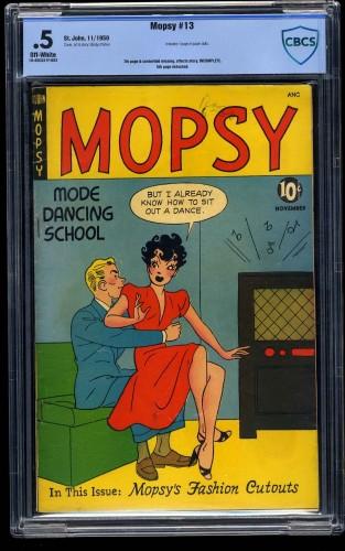 Mopsy #13 CBCS P 0.5 Off White