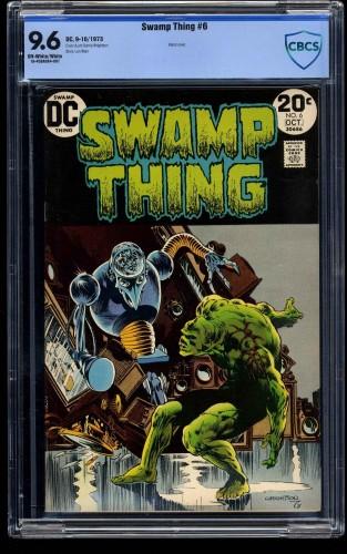 Swamp Thing #6 CBCS NM+ 9.6 Off White to White