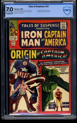 Tales of Suspense #63 CBCS FN/VF 7.0 Cream To Off White