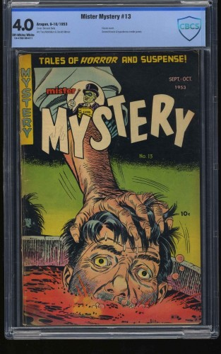 Mister Mystery #13 CBCS VG 4.0 Off White to White