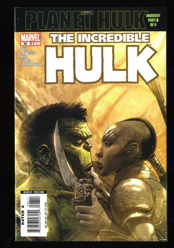 Incredible Hulk (2000) #98 NM+ 9.6
