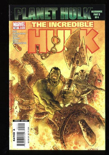 Incredible Hulk (2000) #101 NM+ 9.6