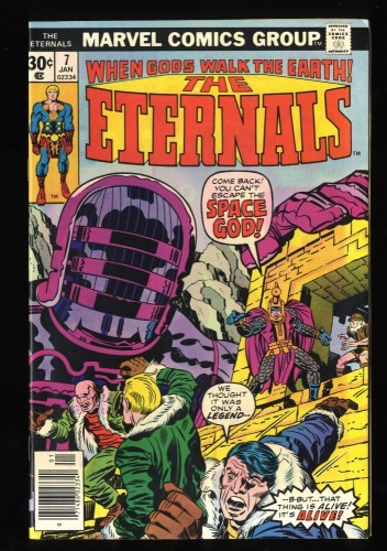 Eternals #7 FN+ 6.5 1st The One Above All!