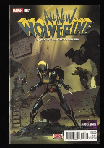 All New Wolverine #2 VF/NM 9.0