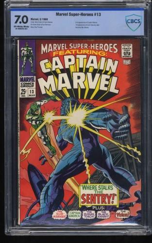 Marvel Super-Heroes #13 CBCS FN/VF 7.0 1st Carol Danvers!