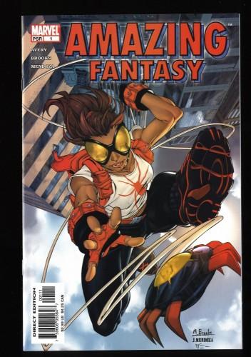 Amazing-Fantasy Vol.2 #1 VF+ 8.5 1st appearance of Arana!!