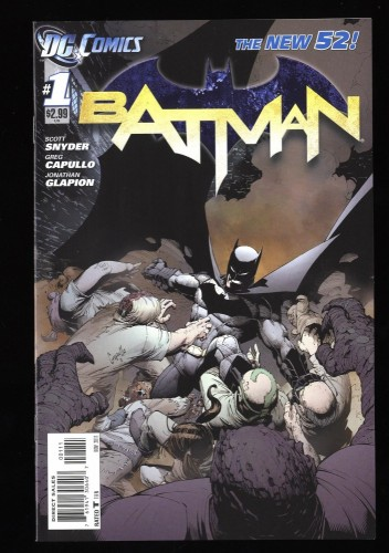 Batman #1 NM+ 9.6 (New 52) (2011)
