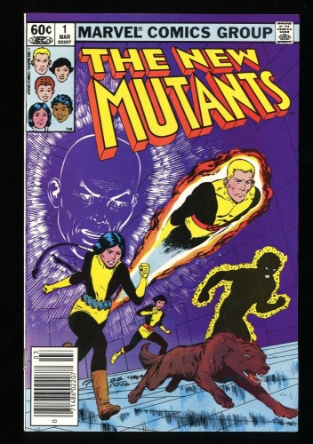 New Mutants #1 NM- 9.2