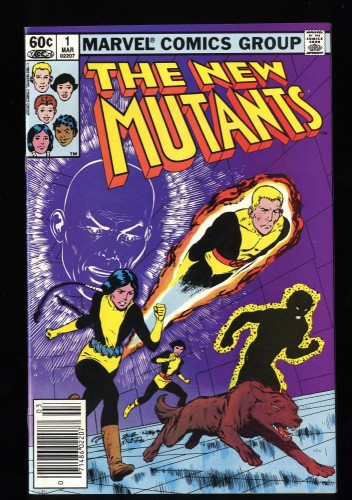 New Mutants #1 VF/NM 9.0