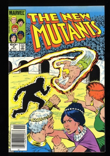 New Mutants #9 NM 9.4 1st Selene!