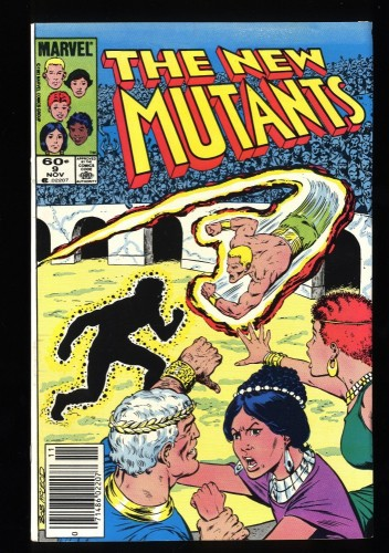 New Mutants #9 VF 8.0 1st Selene!