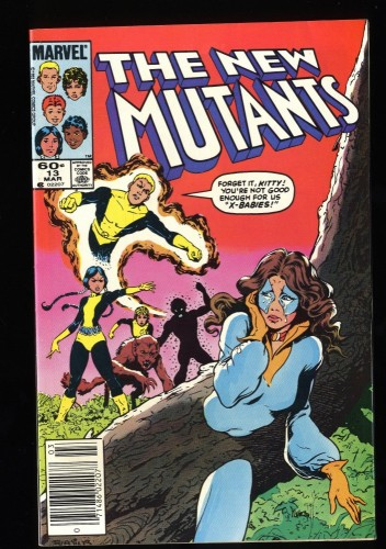 New Mutants #13 NM- 9.2 1st Cypher!