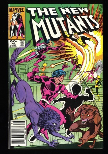 New Mutants #16 VF 8.0 1st Warpath!