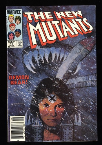 New Mutants #18 VF 8.0 1st Warlock!