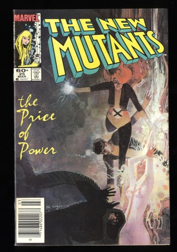 New Mutants #25 VF+ 8.5