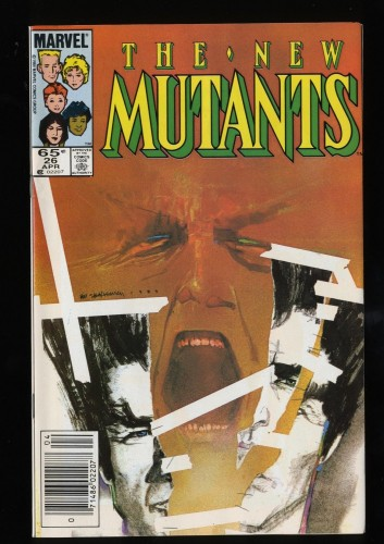 New Mutants #26 VF/NM 9.0 1st Legion!